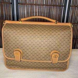 Vintage Gucci double-sided messenger HANDBAG!